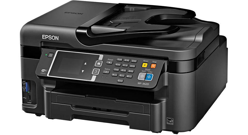 Epson WorkForce WF-۳۶۲۰ Multifunction Inkjet Printer