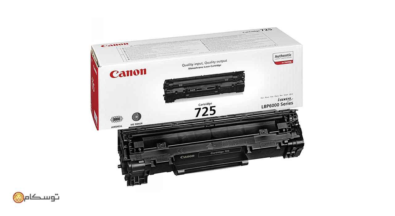 کارتریج لیزری Canon 725