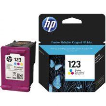 کارتریج جوهر افشان سه رنگ HP 123 اورجینال
