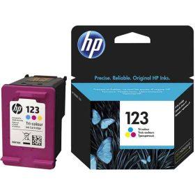 کارتریج جوهر افشان سه رنگ HP 123 ارجینال