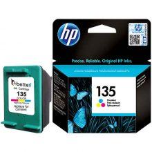 کارتریج جوهر افشان سه رنگ HP 135