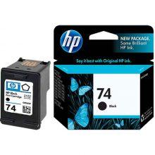 کارتریج جوهر افشان مشکی HP 74