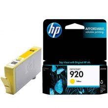 کارتریج جوهر افشان زرد HP 920