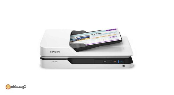 ۰۲-Epson-DS-1630-Flatbed-Color-Document-Scanner