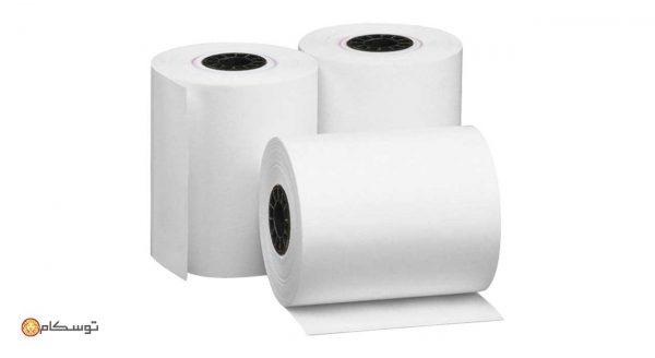 رول کاغذ حرارتی 8 سانتی متری LEO