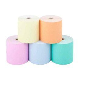 رول کاغذ ۸ سانتی متری رنگی