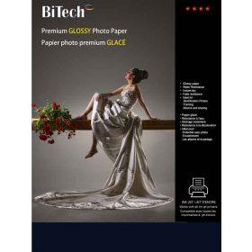 کاغذ گلاسه 255 گرمی Bitech سایز A4 بسته 25 برگی