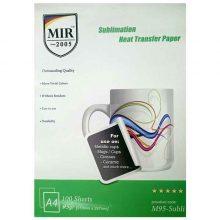 کاغذ سابلیمیشن ۹۵ گرمی MIR سایز A4 بسته ۱۰۰ برگی