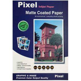کاغذ کوتد مات 190 گرمی PIXEL سایز A4 بسته 50 برگی