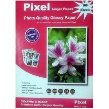 کاغذ گلاسه ۲۰۰ گرمی PIXEL سایز A4 بسته ۱۰۰ برگی
