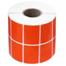 برچسب پرینتر لیبل زن نارنجی 34×51 میلیمتر (3000 عددی)