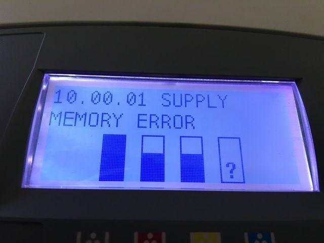 خطای Supply Memory Error و راه های برطرف کردن آن