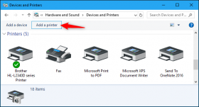 راه اندازی و پیکربندی پرینتر در ویندوز 10