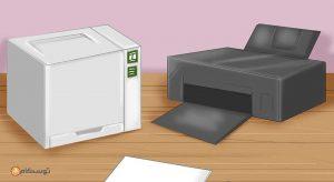 گیر کردن کاغذ در دستگاه پرینترریا، فروشگاه اینترنتی توسکام