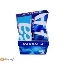 کاغذ تحریر ۸۰ گرمی Double A سایز A4 بسته ۵۰۰ برگی