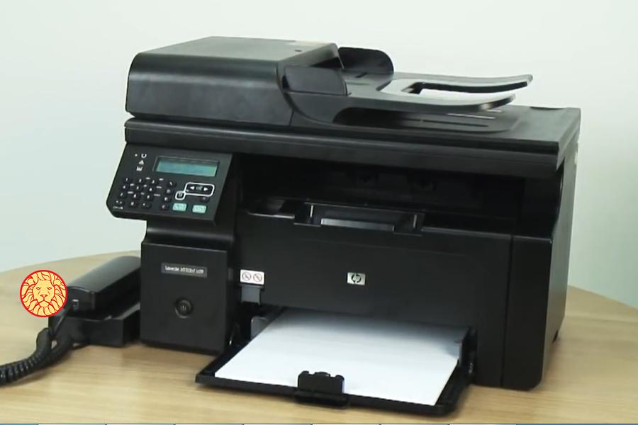 نحوه ارسال فکس با دستگاه hp، آموزش ارسال فکس، آموزش ارسال فکس با پرینتر لیزری چندکاره hp