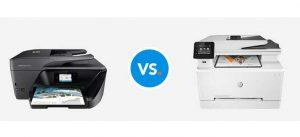 پرینتر لیزری بهتر است بخریم یا جوهر افشان؟ مقایسه و دلایل انتخاب