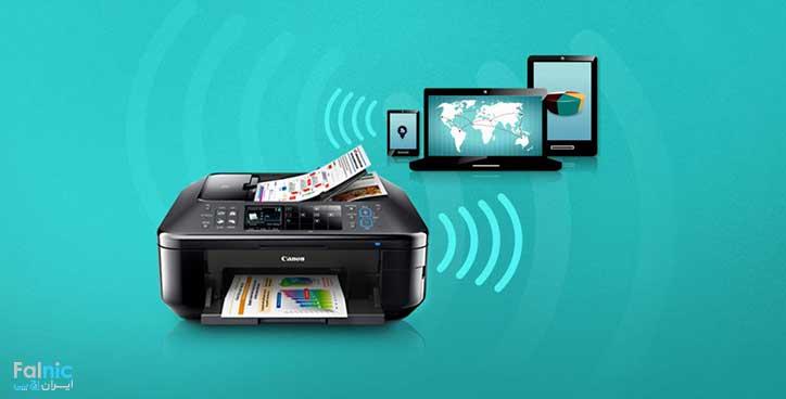 آموزش نصب wifi پرینتر EPSON L۸۰۵